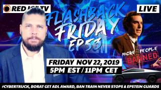 #CyberTruck, Borat Get ADL Award, Ban Train Never Stops & Epstein Guards - FF Ep53