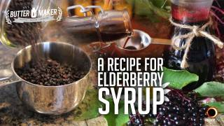A Recipe For Elderberry Syrup - The Blonde Butter Maker