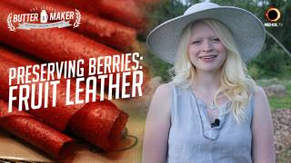 Preserving Berries: Fruit Leather - The Blonde Butter Maker