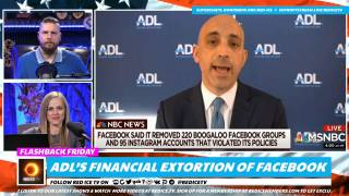 ADL's Financial Extortion of Facebook, They Want Them To Censor More
