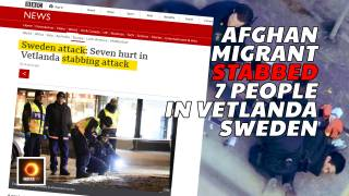 Afghan Migrant Stabbed 7 People In Vetlanda, Sweden