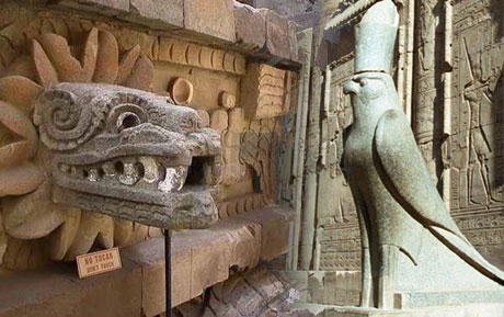 snake bird gods fascinated both aztecs and pharaohs