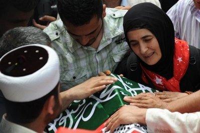 Autopsy shows Gaza activists were hit 30 times