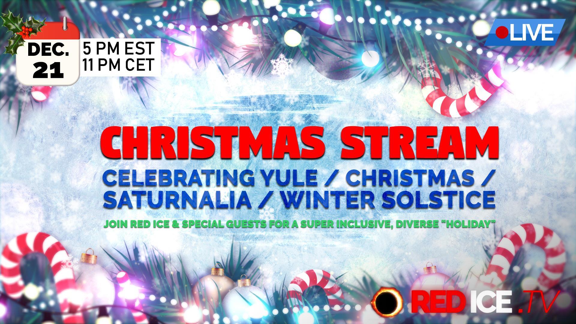 Christmas Stream: Celebrating Yule / Christmas / Saturnalia / Winter ...